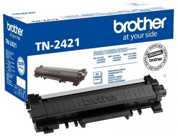 "Toner Compatibil WB, TN2421-WB, compatibil cu Brother HL-L2312/L2352/L2372/DCP-L2512/L2532/L2552/MFC-L2712/L2732 CU CHIP, 3K, ""TN2421-WB"" 0"