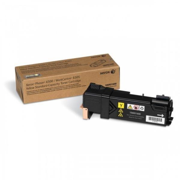 "Toner Original Xerox Yellow, 106R01600, pentru Phaser 6500/6505, 1K ""106R01600"" 0"