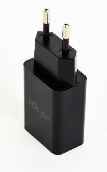 "Universal USB charger, 2.1 A, black ""EG-UC2A-03"" 1"