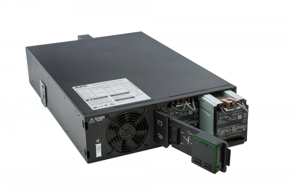 UPS APC Smart-UPS SRT online dubla-conversie 5000VA / 4500W 6 conectoriC13 4 conectori C19 extended runtime rackabil, baterie APCRBC 140,optional extindere garantie cu 1/3 ani (WBEXTWAR1YR-SP-05/WBEXT 3
