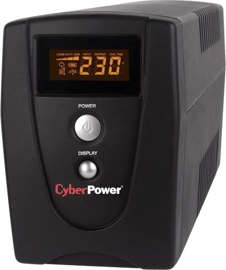 """UPS  CYBER POWER  Value Soho series  Green Power 360W (600VA) Line Interactive, AVR, LCD, USB, Schuko """"VALUE600IELCD"""" (include timbru verde 3 lei) 0"""