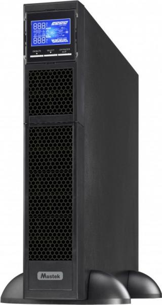 """UPS MUSTEK. PowerMust  2000 online LCD RM (2KW), IEC, rackabil 2U, """"2000-LCD-ON-R20"""" (include timbru verde 3 lei) 0"""