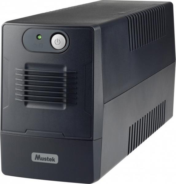 "UPS  MUSTEK PowerMust   600 EG Line Interactive  LED (650VA / 360W), Schuko(2), AVR, ""600-LED-LIG-T10"" (include timbru verde 3 lei) 0"
