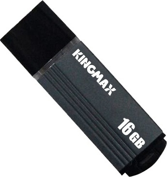 "USB 2.0 KINGMAX  16GB MA-06, compact, aliaj aluminiu, grey ""KM-MA06-16GB/GY"" (include timbru verde 0.01 lei) 0"