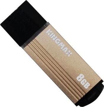 "USB 2.0 KINGMAX   8GB MA-06, compact, aliaj aluminiu, gold ""KM-MA06-8GB/Y"" (include timbru verde 0.01 lei) 0"