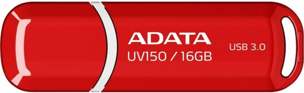"USB 3.0 16GB ADATA   UV150 Red ""AUV150-16G-RRD"" (include timbru verde 0.01 lei) 0"