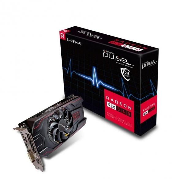 "VGA SAPPHIRE PCI-E 3.0 RX 560 2GB GDDR5 128B LITE RETAIL ""11267-19-20G"" 1"
