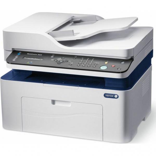 Multifunctional laser mono Workcentre 3025, Print/ Copy/ Scan/ Fax, Viteza: 20 ppm, Rezolutie: 600X600 dpi, Procesor 600 MHz, Memorie 128 MB, Limbaje de printare: GDI, Interfata: USB, Ethernet, Wirele 2