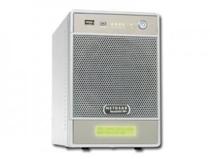 NAS NETGEAR RND4000-100EUS (supported 4 HDD, GLAN, Power Adapter, Desktop, Serial ATA II-300, Level 0, 1, 5) [2]