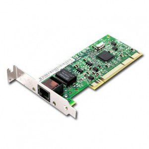 INTEL Network Card PRO/1000 GT (10/100/1000Base-T, 1000Mbps, Bulk, Gigabit Ethernet, lowprofile PCI) [2]