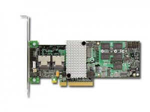 Intel RAID Controller RT3WB080 (8ch Internal LSI SAS2108 ROC, 6Gb/s up to 32 SATA, PCI-E 2.0 X8, 256MB DDR2, optional AXXRSBBU7 or AXXRSBBU8, RAID 0,1,5,6,10,50,60, 2 cables 1xMini-SAS SFF-8087 to 4x  [2]