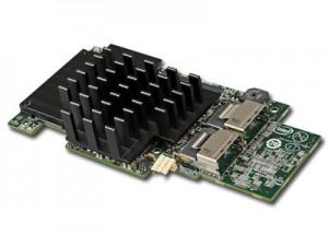 Intel Integrated RAID Module RMS25CB080 (LSI2208 ROC, Storage IO Module, 8Port Internal SAS/SATA, 1GB DDR3, RAID 0,1,10,5,50,6,60, support for RSBBU9 or RMFBU2, no cables), Single [2]