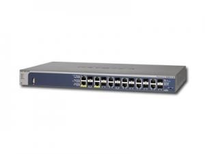 Switch NETGEAR GSM7212F (12 x Gigabit Ethernet/Fast Ethernet/Ethernet, 12 SFP Slots, Rackmount, DHCP Client Built-in, DHCP Server Built-in, Radius/TACACS+) Retail2