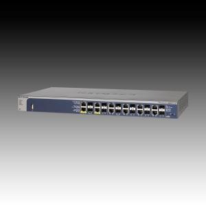 Switch NETGEAR GSM7212F (12 x Gigabit Ethernet/Fast Ethernet/Ethernet, 12 SFP Slots, Rackmount, DHCP Client Built-in, DHCP Server Built-in, Radius/TACACS+) Retail0