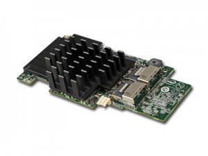 Intel Integrated RAID Module RMS25CB040 (LSI2208 ROC, Storage IO Module, 4Port Internal SAS/SATA, 1GB DDR3, RAID 0,1,10,5,50,6,60, support for RSBBU9 or RMFBU2, no cables), Single [2]