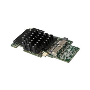 Intel Integrated RAID Module RMS25CB040 (LSI2208 ROC, Storage IO Module, 4Port Internal SAS/SATA, 1GB DDR3, RAID 0,1,10,5,50,6,60, support for RSBBU9 or RMFBU2, no cables), Single [1]