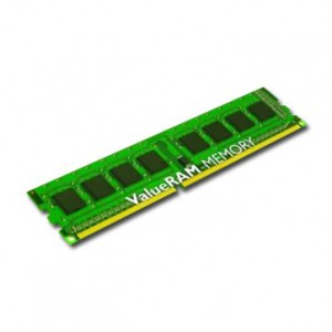 Memory Device KINGSTON ValueRAM DDR3 SDRAM Non-ECC (4GB,1600MHz(PC3-12800),Single Rank,Unbuffered) CL11, EAN: 7406172077742