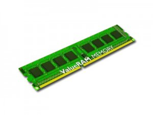 Memory Device KINGSTON ValueRAM DDR3 SDRAM Non-ECC (4GB,1600MHz(PC3-12800),Single Rank,Unbuffered) CL11, EAN: 7406172077740