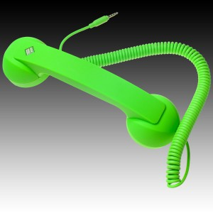 NATIVE UNION  {English}RETRO HANDSET - POP PHONE{English}{Russian}RETRO гарнитура - POP PHONE{Russian} , Green, Retail () [1]
