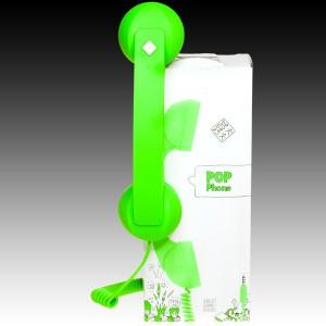 NATIVE UNION  {English}RETRO HANDSET - POP PHONE{English}{Russian}RETRO гарнитура - POP PHONE{Russian} , Green, Retail () [0]