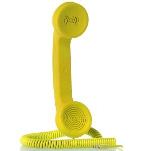NATIVE UNION |{English}RETRO HANDSET - POP PHONE{English}{Russian}RETRO гарнитура - POP PHONE{Russian}|, Yellow, Retail () [3]