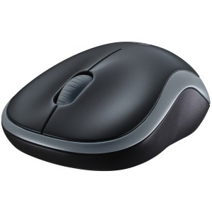 LOGITECH Wireless Mouse M185 - SWIFT GREY - 2.4GHZ - EER21