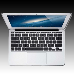 Apple MacBook Air 11-inch Model: A1465, 1.3GHz dual-core Intel Core i5 processor, Turbo Boost up to 2.6GHz, Intel HD Graphics 5000, 4GB memory, 128GB flash storage [0]