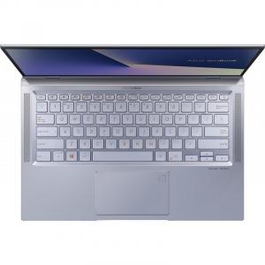 Laptop ultraportabilASUS 14'' ZenBook 14 UX431FL, Full HD, Procesor Intel® Core™ i5-10210U (6M Cache, up to 4.20 GHz), Memorie 8GB, 512GB SSD, GeForce MX250 2GB, Utopia BlueMetal, Licenta Windows 101