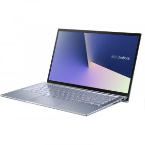 Laptop ultraportabilASUS 14'' ZenBook 14 UX431FL, Full HD, Procesor Intel® Core™ i5-10210U (6M Cache, up to 4.20 GHz), Memorie 8GB, 512GB SSD, GeForce MX250 2GB, Utopia BlueMetal, Licenta Windows 107