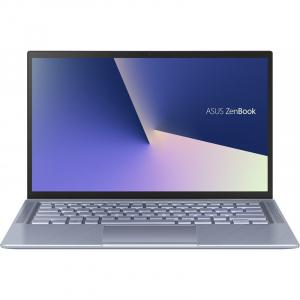 Laptop ultraportabilASUS 14'' ZenBook 14 UX431FL, Full HD, Procesor Intel® Core™ i5-10210U (6M Cache, up to 4.20 GHz), Memorie 8GB, 512GB SSD, GeForce MX250 2GB, Utopia BlueMetal, Licenta Windows 104