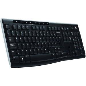 LOGITECH Wireless Keyboard K270 - EER - US International layout
