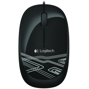 LOGITECH Mouse M105 - BLACK - 2.4GHZ - EER20