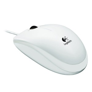 LOGITECH B120 Optical Combo Mouse - WHITE - USB - EMEA1