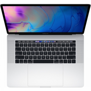 Notebook / Laptop Apple 15.4'' The New MacBook Pro 15 Retina with Touch Bar, Coffee Lake 6-core i7 2.2GHz, 16GB DDR4, 256GB SSD, Radeon Pro 555X 4GB, Mac OS High Sierra, Silver, INT keyboard0