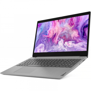 Ultrabook Lenovo 15.6'' IdeaPad 3 15IIL05, FHD, Procesor Intel® Core™ i7-1065G7 (8M Cache, up to 3.90 GHz), 8GB DDR4, 256GB SSD, Intel Iris Plus, Free DOS, Platinum Grey