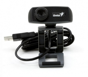 Webcam Genius HD 720p Facecam 1000x, CMOS, 720p up to 30fps, microfon, Black USB, Uvc, Ipm2