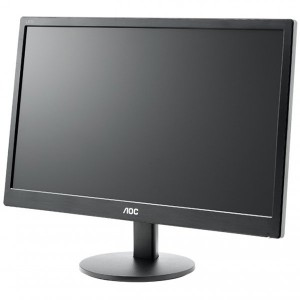 "Monitor LED AOC E2070SWN (19.5"""", WLED, 16:9, 1600 x 900, 5 ms, 20.000.000:1 DCR, 170/160, 250 cd/m2, 16.7M, VGA, VESA 75 mm)3"