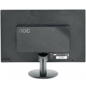 "Monitor LED AOC E2070SWN (19.5"""", WLED, 16:9, 1600 x 900, 5 ms, 20.000.000:1 DCR, 170/160, 250 cd/m2, 16.7M, VGA, VESA 75 mm)1"