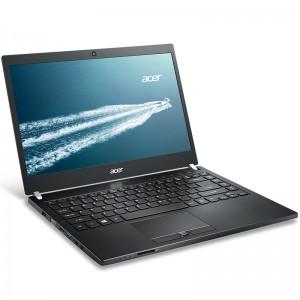 """ACER, TravelMate TMP648-M-578H, 14"""", FHD, Intel Core i5-6200U, DDR4 8GB (2x4), SSD 128GB, SATA 1TB 5400rpm, no ODD, VGA Int., HDMI, WiFi, BT 4.0, Gbit LAN, HD webcam, 3 cell batt., 3G & CAT4 LTE, back [3]"""