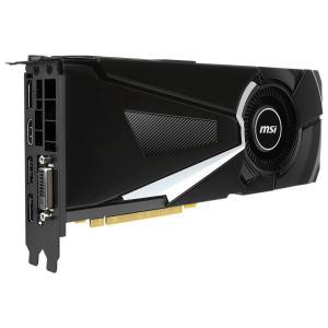 MSI Video Card GeForce GTX 1080 GDDR5X 8GB/256bit, 1771MHz/10010MHz, PCI-E 3.0 x16, 3xDP, HDMI, DVI-D, Retail1