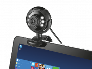 Camera WEB Trust SpotLight Pro Webcam LED Lights2