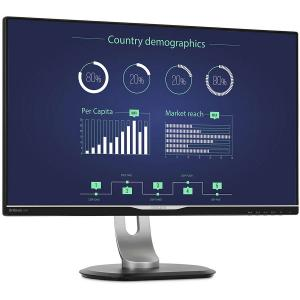 """Monitor 25"""" PHILIPS 258B6QUEB cu statie de andocare USB-C, IPS, WLED ,16:9, WQHD 2560*1440, 60hz, 5 ms, 350 cd/m2, 1000:1/ 20M:1, 178/178,HDMI, VGA, USB, DVI, DP, pivot, VESA, Speakers """"258B6QUEB/00""""1"""