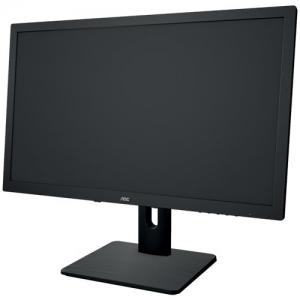 AOC E2275PWQU 21.5 inch Monitor (VGA, DVI, HDMI, USB, DisplayPort, 1920x1080, 60Hz, 2ms response time, Pivot, speakers (Black)3