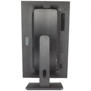 AOC E2275PWQU 21.5 inch Monitor (VGA, DVI, HDMI, USB, DisplayPort, 1920x1080, 60Hz, 2ms response time, Pivot, speakers (Black)1