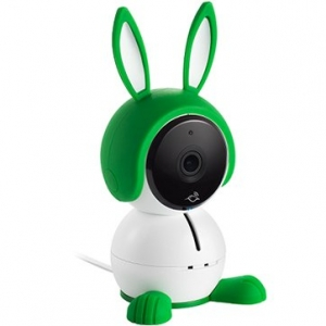 The all-in-one smart baby monitoring camera with 1080p HD video, lullaby player, night light, rechargeable battery and air sensors.0