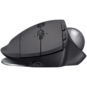"MOUSE LOGITECH. bluetooth, 2000dpi, 8 butoane, 1 rotita scroll, 1 trackball, ""MX Ergo"", graphite, ""910-005179"" (include timbru verde 0.1 lei)2"