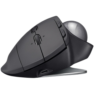 "MOUSE LOGITECH. bluetooth, 2000dpi, 8 butoane, 1 rotita scroll, 1 trackball, ""MX Ergo"", graphite, ""910-005179"" (include timbru verde 0.1 lei)1"