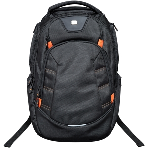 CANYON Backpack for 15.6\'\' laptop, black (Material: 1680D Polyester)0