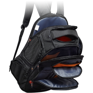 CANYON Backpack for 15.6\'\' laptop, black (Material: 1680D Polyester)1