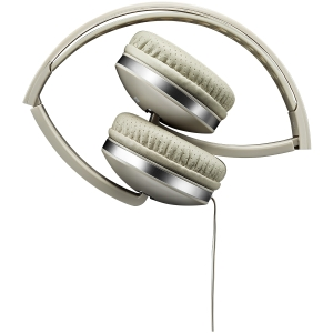 CANYON Stereo headphone with microphone and switch of answer/end phone call, cable 1.2M, Beige1